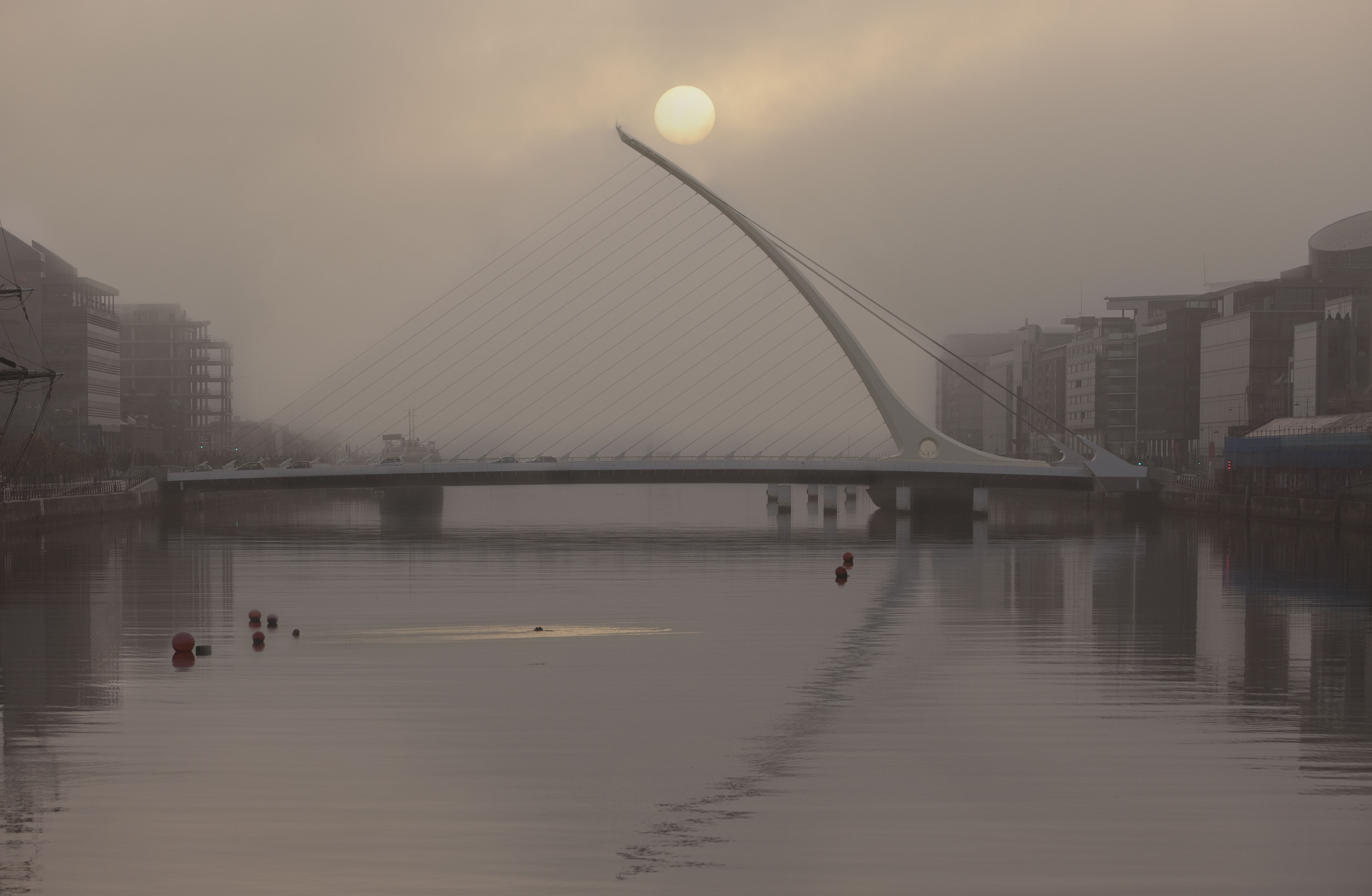 Travel Photograph Itreland Bridge over the Liffe